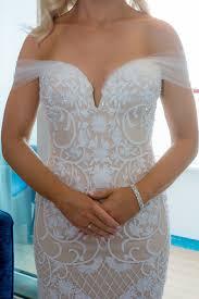 Wedding Dress On Sale Leah Da Gloria Custom Made Size 8 Wedding Dress Wedding And