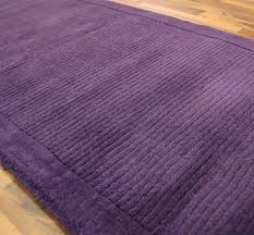 Mauve Runner Rug York Purple Runner Rug