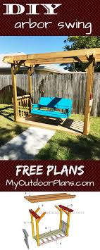 arbor swing plans free 87 best free pergola plans images on pinterest pergola plans