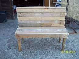 bench made out of pallets benches made from pallets is being created out of pallet planks