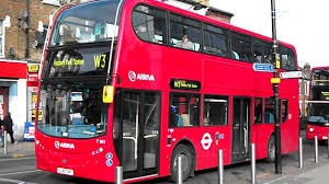 london bus route w3 at wood green station youtube