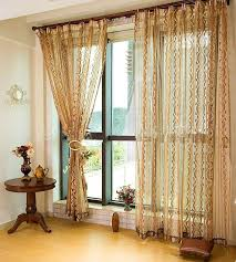 on sale new arrival tulle curtains for home coffee purple golden