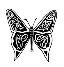 celtic butterfly images from itattooz
