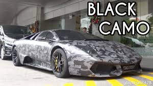 camo maserati black camo lamborghini murcielago lp670 sv quick look youtube