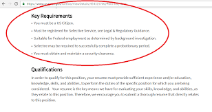 federal government job application steps get interviewed