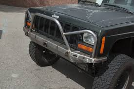 jeep front grill guard jeep cherokee front bumper mojave series 86 01 cherokee xj bare no