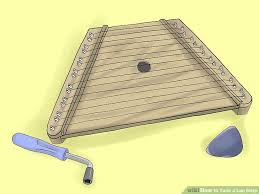 what size l harp do i need how to tune a lap harp 6 steps with pictures wikihow