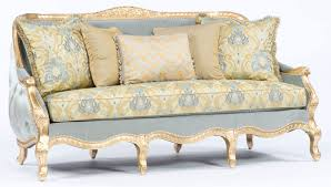 Antique Chaise Lounge Sofa by Furniture 50s Couch French Provincial Sofa Vintage Couches