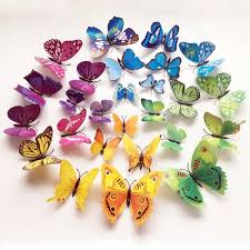 3d butterflies wall decals mamahome your essential store