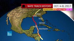 hurricane nate slams the u s gulf coast spawns southeast