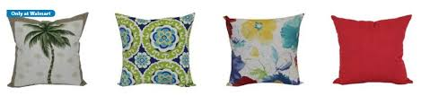 Walmart Sofa Pillows by Mainstays Outdoor Throw Pillows Only 5 Select Styles