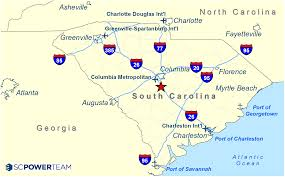 Charleston County Zoning Map Calhoun County I 26 Industrial Park Sc Power Team Sc Power Team