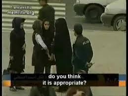 iranian police enforce islamic dress code on women youtube