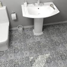 Gray Floor Bathroom - tile for less overstock com