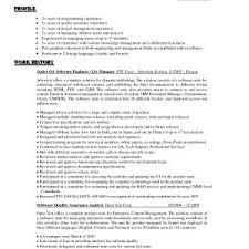 quality assurance resume resume sle of quality assurance copy quality assurance resumes