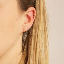 cartilage hoops tiny gold hoops tiny hoops thin hoops 9ct gold hoops gold hoop