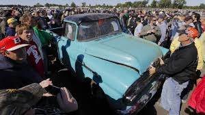 Business Mileage The Holy Grail by The 142 000 Pickup Truck With 1 3 Miles Tops Vintage Car Auction