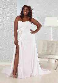 beach wedding dress plus size luxury brides