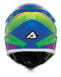 blue motocross helmet acerbis motocross helmet impact mx power eu