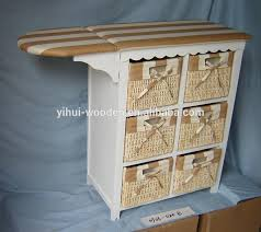Wood Storage Cabinets With Drawers Wooden Cabinet Multi Drawer Wooden Storage Cabinets With Ironing