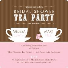tea party bridal shower invitations bridal shower theme ideas bridal shower party planning