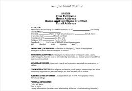 Sample Personal Information In Resume by An In Depth Guide To Resumes Free U0026 Premium Templates