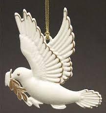 dove ornaments rainforest islands ferry