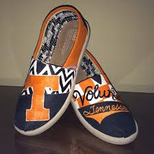 Tennessee Vols Home Decor Tennessee Volunteers Vols Women U0027s Shoes Toms