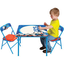 Mickey Mouse Kids Table And Chairs Disney Cars Hometown Heroes Erasable Activity Table Set With