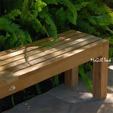 ft backless outdoor teak bench images with cool kitchen benches