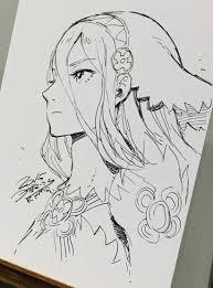 image kozaki aqua live sketch jpg fire emblem wiki fandom