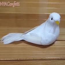 aliexpress buy 15pcs 14 4 5cm small white dove decorative
