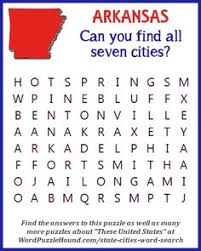 arkansas wordsearch crossword puzzle and more word search