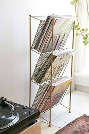 Record Player Cabinet Plans Record Album Storage With Classy Wooden And Vinyl Materials Design