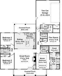 country style house plan 3 beds 2 00 baths 1888 sq ft plan 21 368