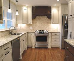 country kitchen backsplash ideas kristen lunsford white cabinets in combination with granite