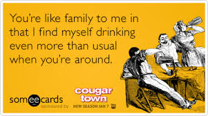 Cougar Town Memes - wine friends age courteney cox cougar town funny ecard cougar town