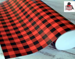 christmas plaid wrapping paper plaid wrapping paper etsy