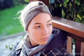 infinity headband knots and thoughts crochet turban headband free pattern