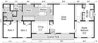 ranch style house floor plans carthage ranch style modular home pennwest homes model s hr112