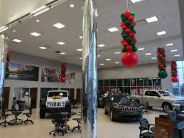 jeep christmas decorations columns balloon town