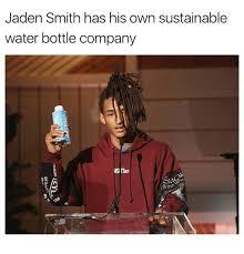 Jaden Smith Meme - jaden smith has his own sustainable water bottle company jaden