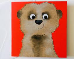 meerkat card etsy