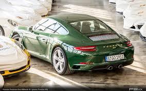 porsche irish green one millionth porsche 911 rolls off production line u2013 p9xx