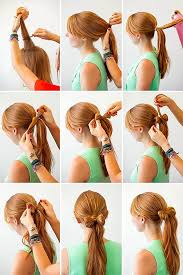 tutorial mengikat rambut kepang 12 gaya rambut cantik untuk kamu yang suka ikat ponytail biar