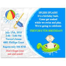 pool birthday party invitation wording stephenanuno com