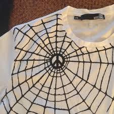 love moschino halloween moschino t shirt white and black 72 off