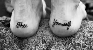 foot name tattoo ideas