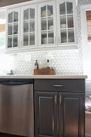 sink faucet white tile backsplash kitchen homed granite