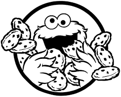cookie monster cokie monster coloring page coloring pages for kids